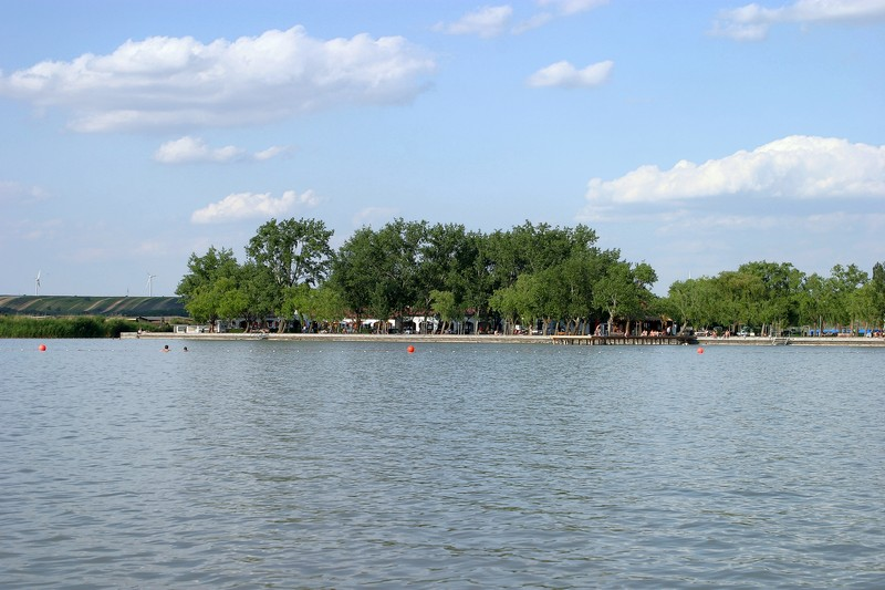 Weiden Am Neusiedlersee Swimming And Fun In The Water